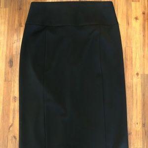 Express High Waist Black Pencil Skirt NWT